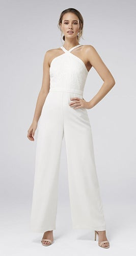 Ally Lace Bodice Jumpsuit