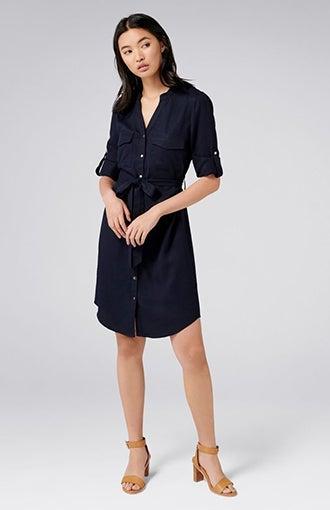 Belinda Shirt Dress