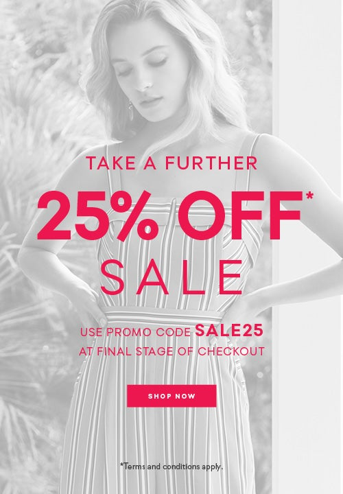 17caa5ac23b Take A Further 25% Off Sale - Clothes   Accessories