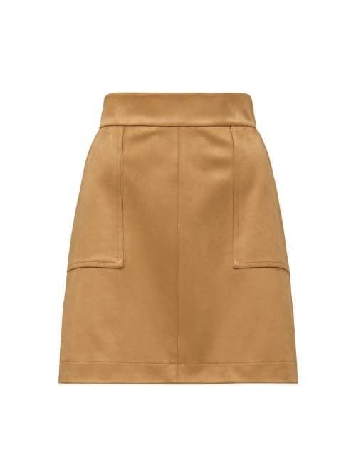 Tara Suedette Mini Skirt